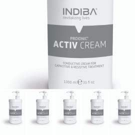Crema conductora Indiba Activ 1.200 ml. ( Pack  6 und )